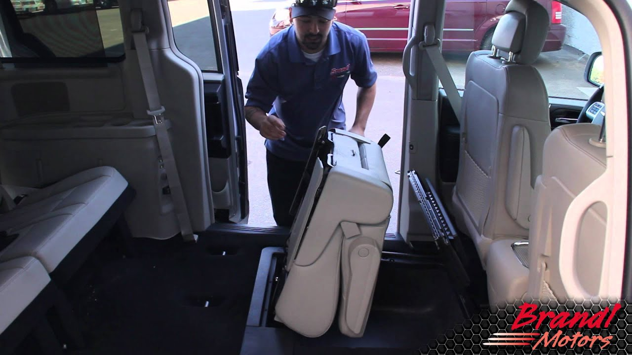Toyota Floor Mats >> Stow and Go Seats- Chrysler Town and Country, Dodge Grand Caravan - Brandl Media Minute- 09-29 ...
