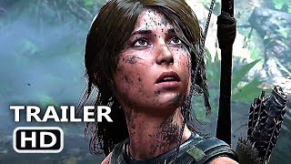 "SHADOW OF THE TOMB RAIDER ""E3 2018"" Trailer (2018) Blockbuster Game HD"