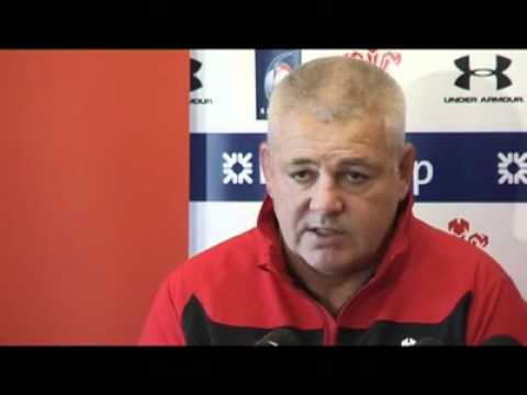 Warren Gatland press conference ahead of Ireland clash