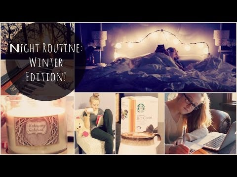 After School/Nightly Routine: Winter Edition! | xoxosolie