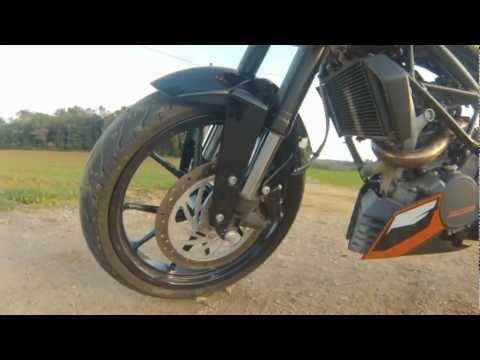 KTM DUKE 200. Prueba Portalmotos.com
