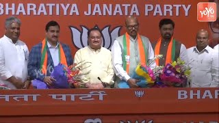 TDP MPand#39;s Join BJP | Sujana Chowdary | TG Venkatesh | CM Ramesh | PM Modi