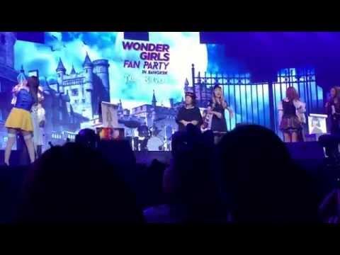 Wonder Girls Fan Party in Bangkok Trick & Greet - Game