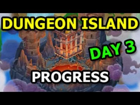 DUNGEON ISLAND Dragon City The Deeps Quest Progress DAY 3