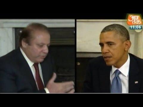 Sharif urges Obama to raise Kashmir issue during India visit