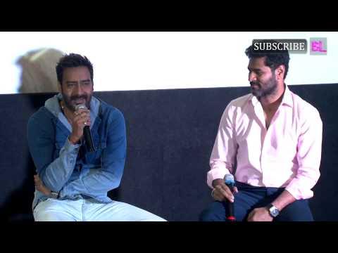 Ajay Devgn Prabhudeva At Action Jackson Song Launch   Part 1