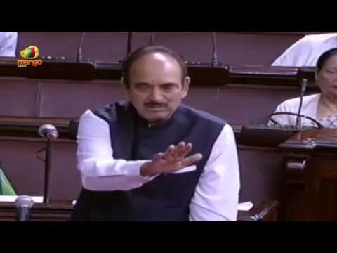 Congress Ghulam Nabi Azad requests BJP Govt for a discussion on GST Bill | Mango News