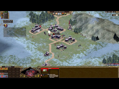 Let`s Play Rise Of Nations : Extended Edition Conquer the World Campaign (Mongols) Part 1