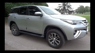 2018 Toyota Fortuner 2.4 4X2 VRZ Start-Up and Full Vehicle Tour