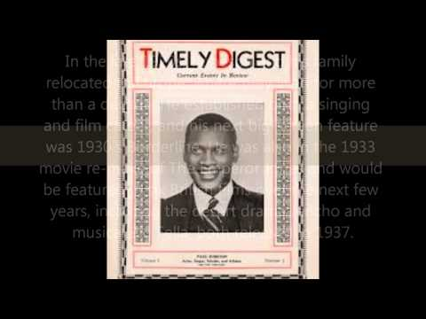 Paul Robeson Musical Tribute