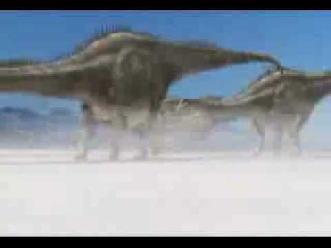 Walking with Dinosaurs - Diplodocus Hunting Video