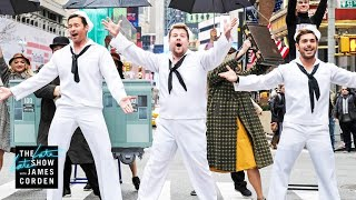 Crosswalk the Musical on Broadway (w/ Hugh Jackman, Zendaya & Zac Efron) by : The Late Late Show with James Corden