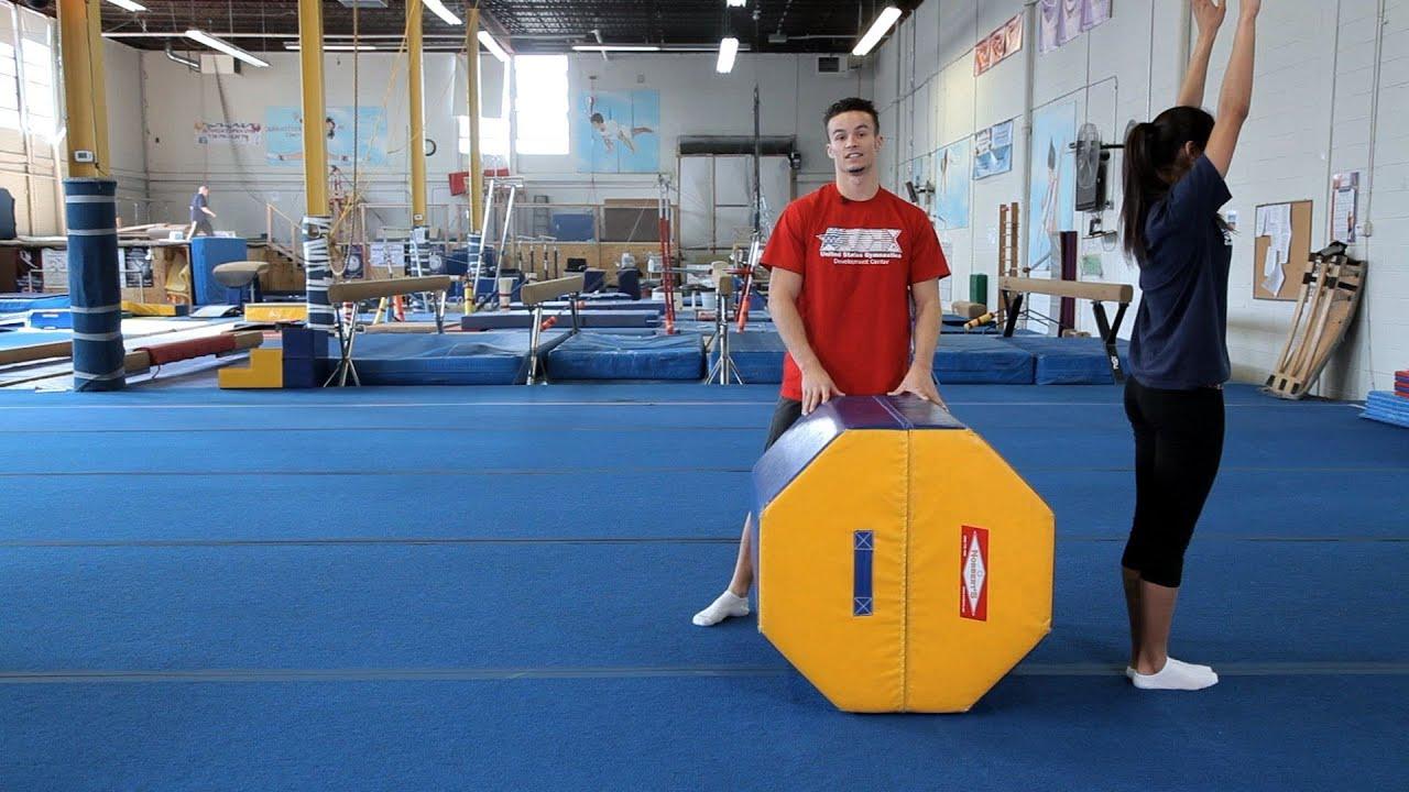 How To Do A Back Handspring Gymnastics Lessons Youtube
