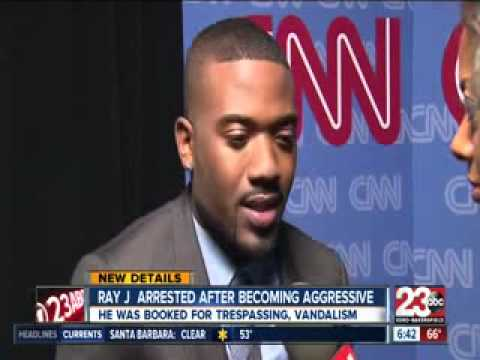 Ray J Arrested For Spitting On Cops!