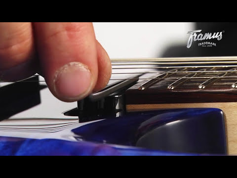 Framus Tutorial: Setup of a Guitar with a Wilkinson Tremolo