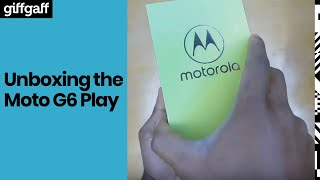 Moto G6 Play | Unboxing | giffgaff