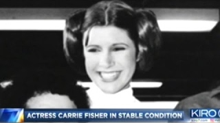 [News Today] - Carrie Fisher In Stable Condition In Los Angeles Hospital