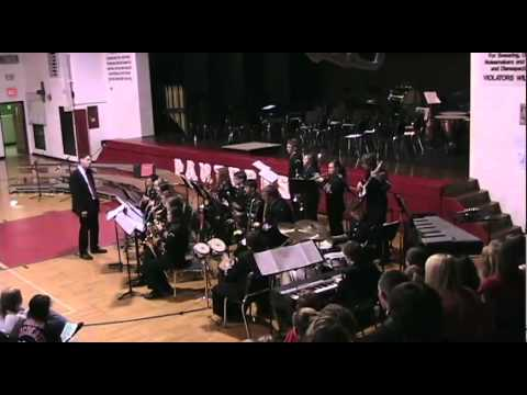 Manchester High School Jazz Band Christmas Concert