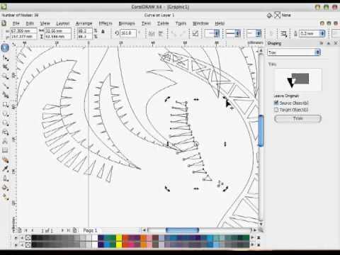 Corel Draw Vector Tutorial 09-COREL DRAW TUTORIAL