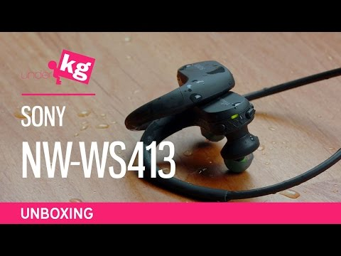 Sony NW-WS413 Unboxing: Walkman Swims! [4K]