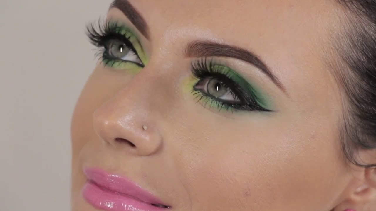maquillage yeux vert tutoriel youtube
