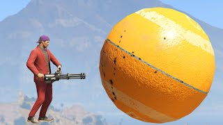 BALL BATTLE ATTACK MINIGAME! (GTA 5 Funny Moments)