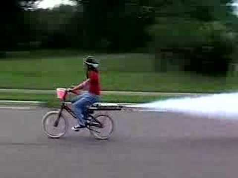 Rocket Bike Girl