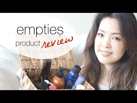 Empties Review! Products I've Used Up - Trash or Treasures?