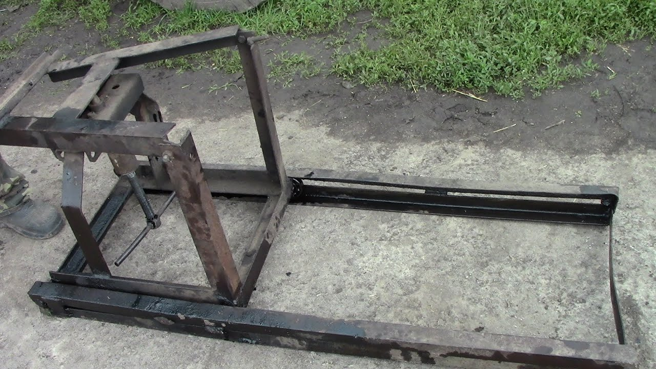 Приспособление для раскатки трактора мтз 80 своими руками 16