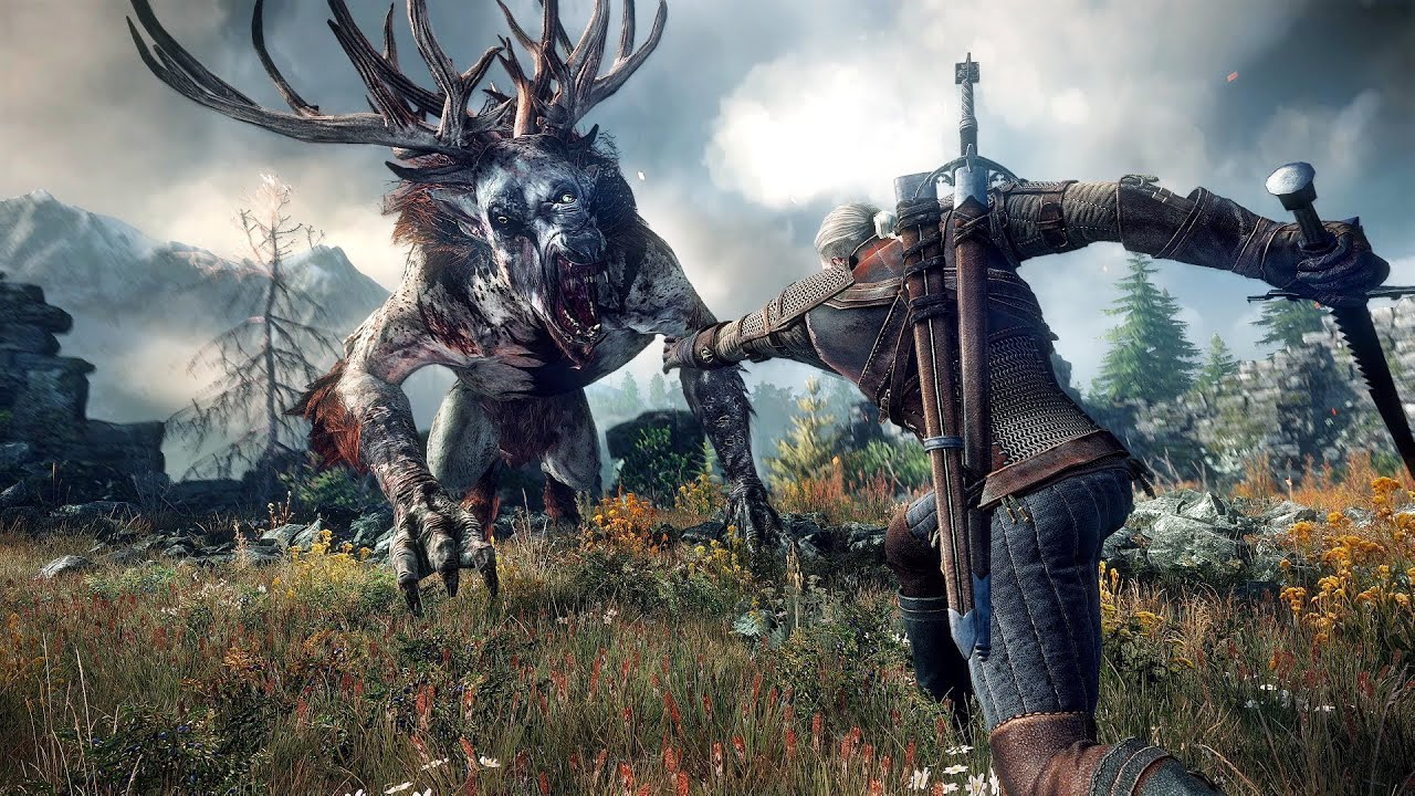 The Witcher 3 Debut Gameplay Trailer