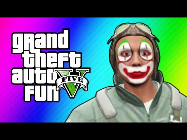 GTA 5 Online Funny Moments - Flight School Day 2, Glitchy Titan Planes & More!