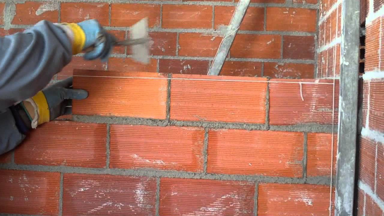 2011 12 levantamiento de fabrica de ladrillos youtube - Como hacer tabiques ...
