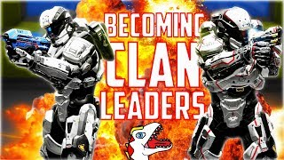 BECOMING CLAN LEADERS & TROLLING CLAN KIDS - (Pt. 1) Halo 5 Goofs and Gafs (feat. ErickNinjaErick)