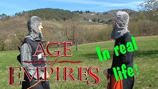 AGE OF EMPIRES IN REAL LIFE!