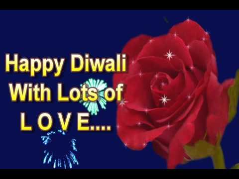 Happy Diwali Greeting Ecard For Love