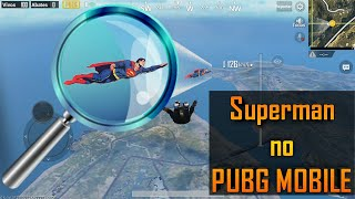 Superman no PUBG MOBILE