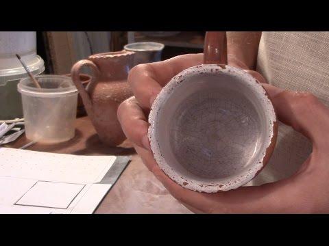 Как сделать глазурь для керамики в домашних