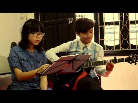 Nhật Kí Của Mẹ  st. Nguyễn Văn Chung - Guitar Cover By Hương Ly Ft. Guitardamme video