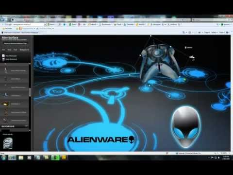 Copy of alienguise on windows 7 background