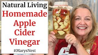 How to Make Homemade Apple Cider Vinegar with the Mother - DIY From Scratch Recipe for Beginners