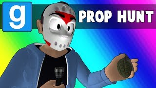 Gmod Prop Hunt Funny Moments - Trashing the Minecraft Kitchen (Garry's Mod)