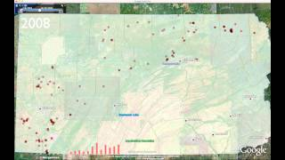 Marcellus Shale Wells Drilled in Pennsylvania (2006-2011)