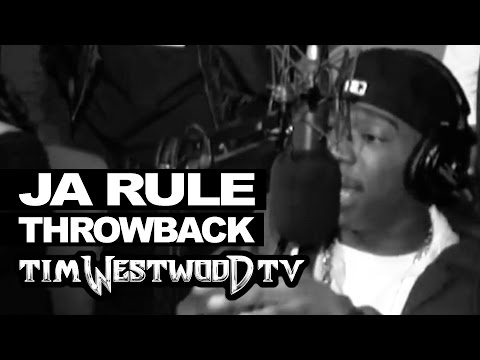 Ja Rule crazy freestyle over Ruff Ryders! Throwback 2000 - Westwood