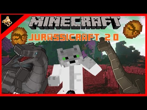 Minecraft Mod Showcase | Jurassic Craft Full Review!! Dinosaurs in Minecraft 1.10.2!!