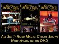 Magic Circus Volume 1 and Volume 2 by Mark Wilson - DVD