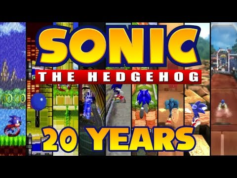 Sonic The Hedgehog: Speeding Through 20 Years Of History video