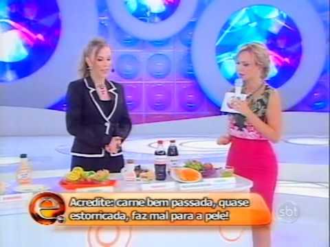 Doutora Liliane - Programa Eliana - Alimentação e Reeducação Alimentar