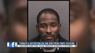 Man arrested after blackmailing girlfriend with intimate video
