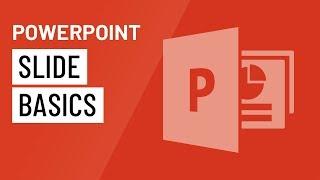 PowerPoint 2016: Slide Basics