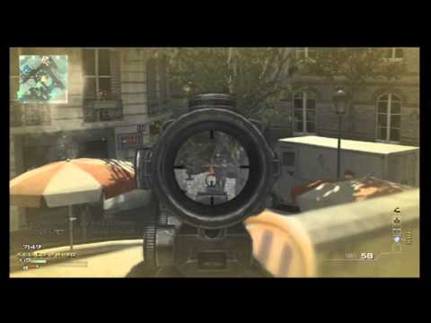 MW3: Dragunov MOAB - MOAB With Every Gun